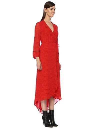 Ganni Elbise Kırmızı